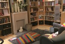Sitting room inspo / Great place to relax, read and enjoy a cuppa