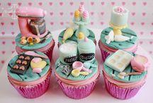 Cooking theme cake