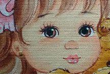 pinturas en tela