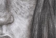My works: Black & White Art