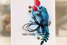 Cards: Watercolour / These are not my pins.  They are beautiful cards and projects created by talented card artists.  They are here to inspire me.