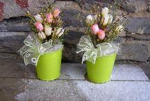 jaro / Milujeme jaro. Tvoříme jarní dekorace.