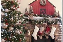 Cheminées De Noël