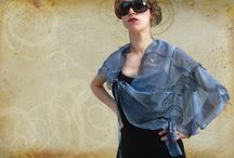 FOULARDS HANDPAINTED by Luciana Torre / on sale at my eSHOP:  http://it.dawanda.com/shop/ceramica-accessori-dipinti-Luciana-Torre