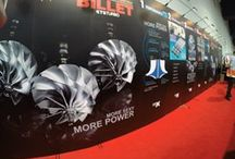 "Billet compressor wheel - SEMA Las Vegas 2015 / Billet Compressor Wheel - KTS showcases ""Earth's Largest Selection"" of MFS impellers, in every unimaginable sizes, options and proportions."