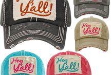 Hey Yall Baseball Hats