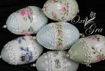 Decoratet eggs