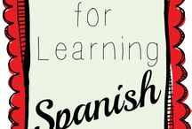 Learning Spanish / Spanish / by Teresa Cardona