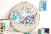 + my work + / A little space to share my embroidered pieces...