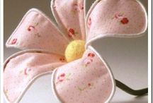 Flowers to make in fabric