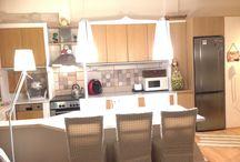 Κουζίνα χτιστή / Κουζίνα χτιστή με ΑΛΦΑ μπλοκ