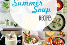 Summer Soups! / Soup recipes- cold