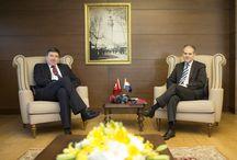 Hırvatistan Spor Bakanı Vedran Mornar ve Beraberindeki Heyeti Kabulü