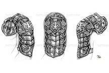 Viking Armor Tattoo IDEAS