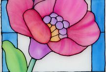 Flowers stained 2