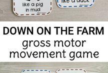 Gross Motor  Games