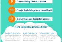 #Seo and #Analytics / Para todos los principiantes #SEO como yo, comparto unas #infografía que nos sirvan de guías