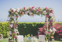 flower square arch