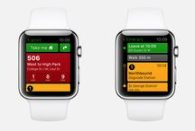 Apple Watch Apps / A collection of screenshots of Apple Watch Apps