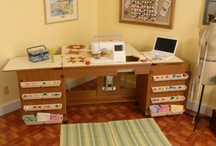 Really cute Sewing Tables!