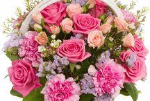 coșulețe cu flori