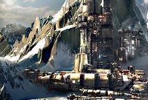 Cyberpunk Landscape / by Vincent Bezençon