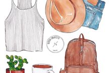 Fashion Stuff Illustration