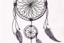 dream catcher tattoo