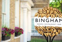 The Bingham / The Bingham, Richmond's riverside destination restaurant, bar and boutique hotel is a chic independent, family run getaway for those looking for a slice of the countryside within the city.