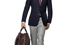 Blå blazer/dress