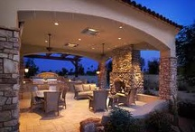 Beautiful Outdoor Rooms & Spaces / by Mitch Turek