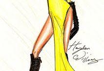kreslene modne obrazky