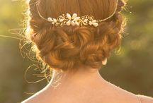 Hair / Inspiring hairstyles relating to weddings