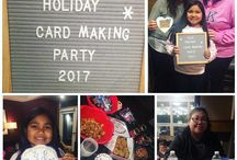 RLR charity card-making parties