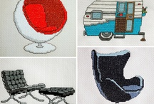Cross stitch and embroidery