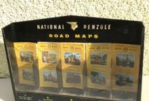 VINTAGE ROAD MAPS / Visit our website to see our full range of automobilia. Stock changes regularly, so check back for new products: http://mattsautomobilia.co.uk/new