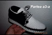 pantofi croset