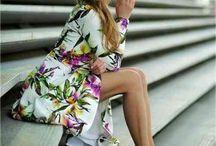 La p'tite robe florale