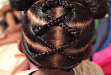 penteados infantil