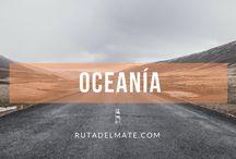 Guía Oceanía   Ruta del Mate / Tablero de viajes a Oceanía: Australia, Nueva Zelanda...