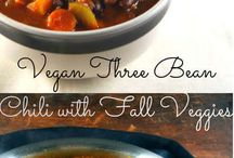 Vegan winter recipes / Recipes with seasonal winter and fall vegetables.