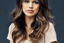 Brunette hair / All shades of brunette