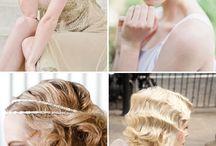 Bröllopssmink/-hår / Inspo till hår och mejk