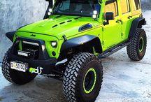 Auta a jeepy