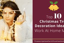 Christmas Tree Decoration Ideas for WAHMs