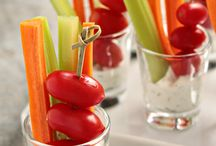 Appetizers - Veggies/Fruit / by Heidi Meslow