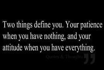 Motivation / Vid olika tillfällen och platser kan man ibland behöva några ord på vägen för att inte förlora förståndet!