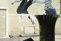 Street art / le street art est l'art de créer un univers à travers les matériaux urbains, faire ressortir des sensations... etc