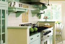 Interiors: Kitchens / by Jeanette Morrow
