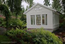 Kotipihan kasvihuone- Greenhouse